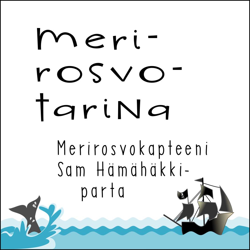Merirosvotarina Merirosvokapteeni Sam Hämähäkkiparta