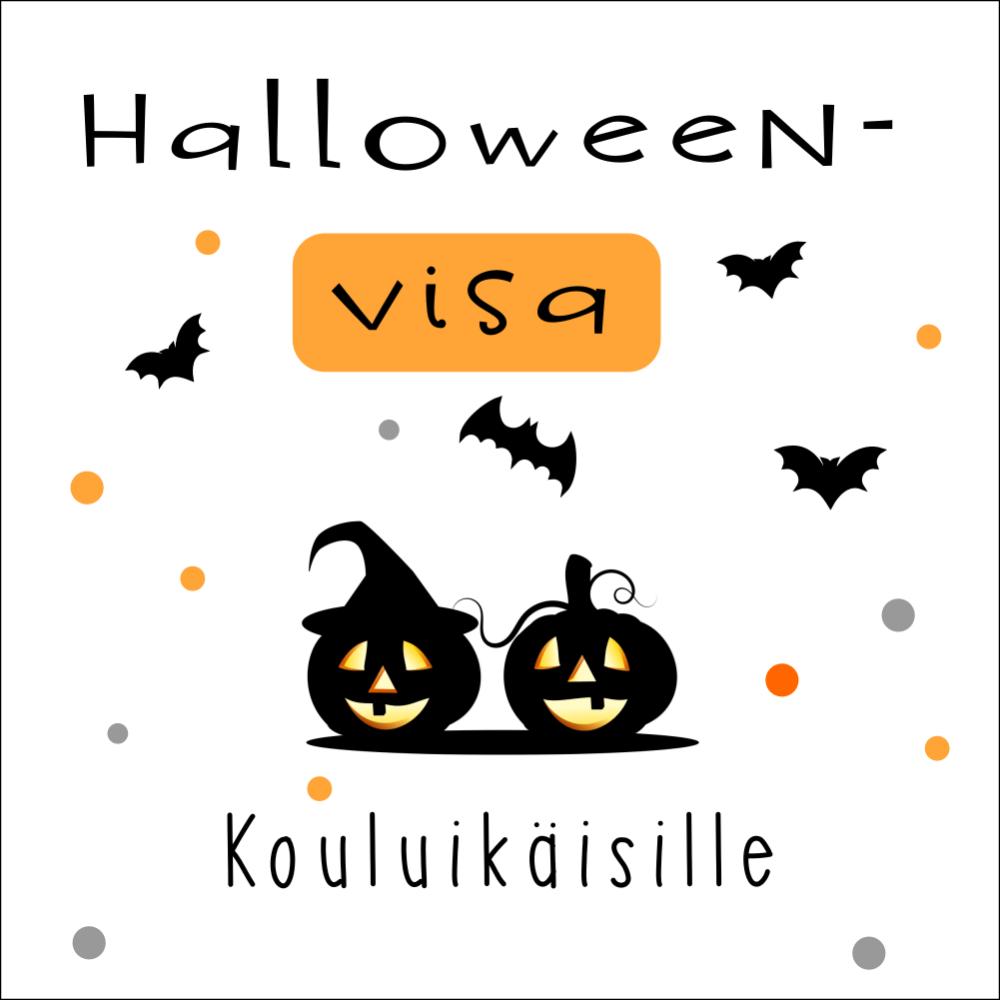 Halloween visa Tietovisa